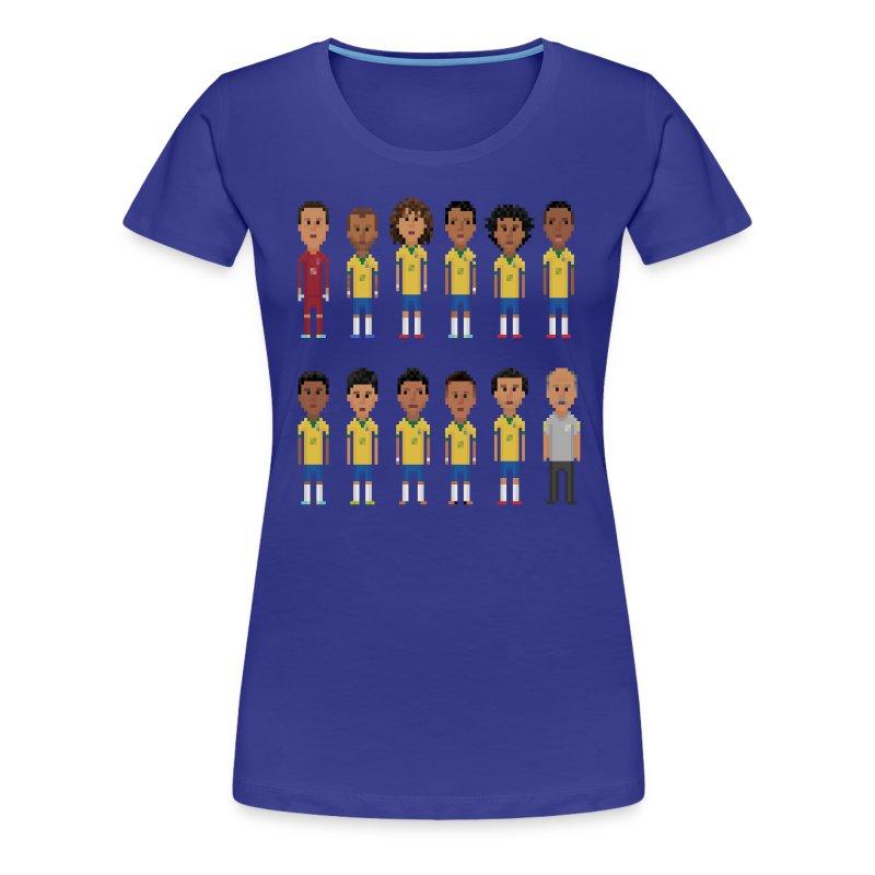Women T-Shirt - 8bit-Football.com.BR - Women's Premium T-Shirt