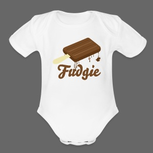 Fudgie - Short Sleeve Baby Bodysuit