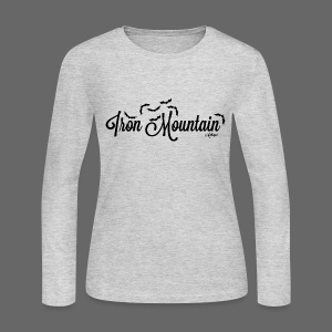 Iron Mountain - Women's Long Sleeve Jersey T-Shirt