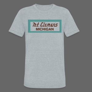 Mt. Clemens - Unisex Tri-Blend T-Shirt by American Apparel