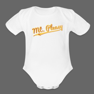 Mount Pleasy - Short Sleeve Baby Bodysuit
