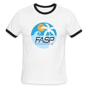 FASP ringer tee - Men's Ringer T-Shirt
