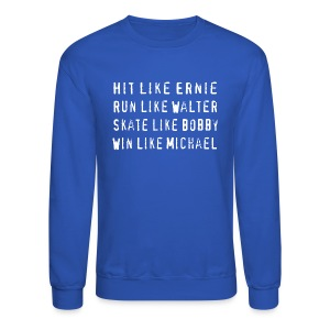 North Hit Run Skate Win Chicago - Crewneck Sweatshirt