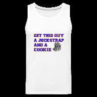 Sportswear ~ Men's Premium Tank ~ Jockstrap and a Cookie
