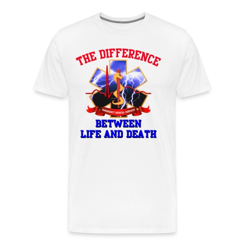 Star of Life Difference - EMS 1 - Men's Premium T-Shirt