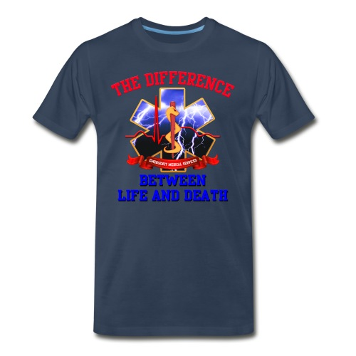 Star of Life 2 - Difference - Men's Premium T-Shirt