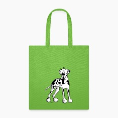 Great Dane - Dog - Dogs - Breed - Cartoon Bags & backpacks