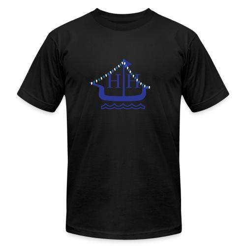 Boat Parade Hanukkah - Men's Fine Jersey T-Shirt