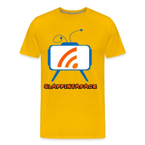 Slappinyaface Logo 2014 #1 - Men's Premium T-Shirt