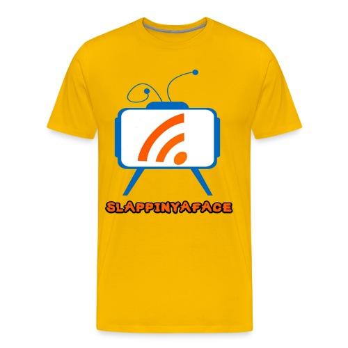 Slappinyaface Logo 2014 #1 - Men's Premium T-Shirt