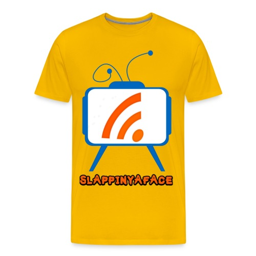 Slappinyaface Logo 2014 #2 LONG - Men's Premium T-Shirt