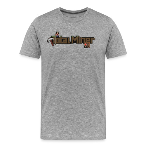 Total Miner Logo Premium T-Shirt - Men's Premium T-Shirt