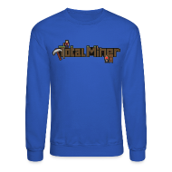 Long Sleeve Shirts ~ Crewneck Sweatshirt ~ Total Miner Logo Crewneck Sweatshirt