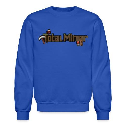 Total Miner Logo Crewneck Sweatshirt - Crewneck Sweatshirt