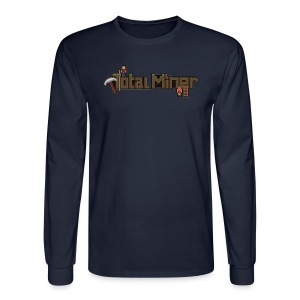 Total Miner Logo Long Sleeved T-Shirt - Men's Long Sleeve T-Shirt
