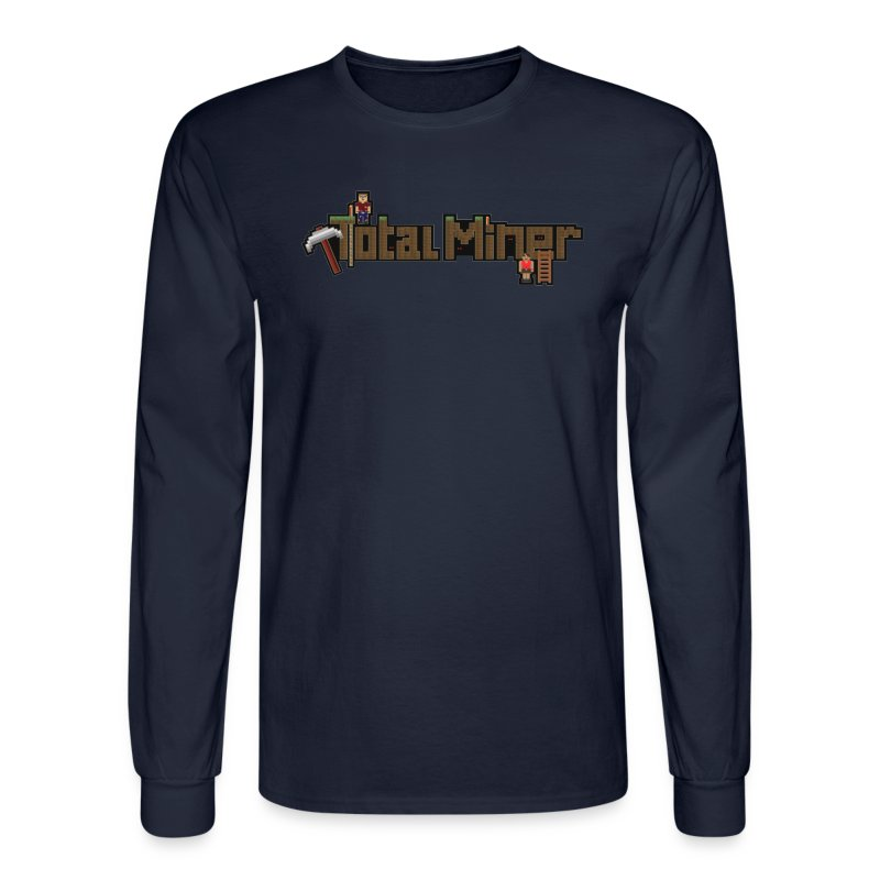 Total Miner Logo Long Sleeved T-Shirt - Men's Long Sleeve T-Shirt