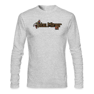 Long Sleeve Shirts ~ Men's Long Sleeve T-Shirt by Next Level ~ Total Miner Logo Long Sleeved T-Shirt