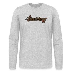 Total Miner Logo Long Sleeved T-Shirt - Men's Long Sleeve T-Shirt by Next Level