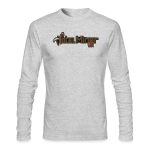 Total Miner Logo Long Sleeved T-Shirt - Men's Long Sleeve T-Shirt by Next Level