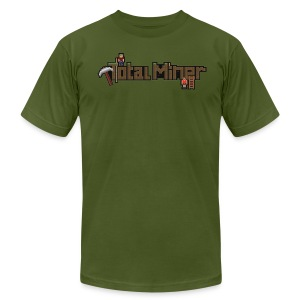 Total Miner Logo T-Shirt - Men's T-Shirt by American Apparel