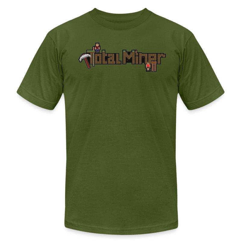 Total Miner Logo T-Shirt - Men's Fine Jersey T-Shirt