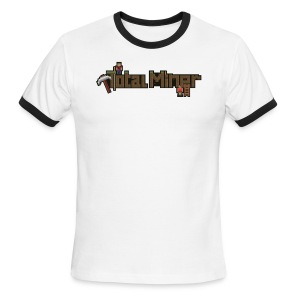 Total Miner Logo Ringer T-Shirt - Men's Ringer T-Shirt