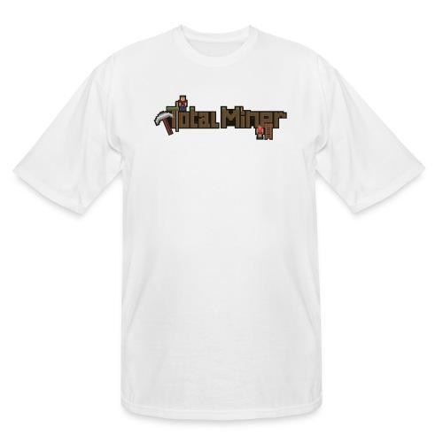 Total Miner Logo Tall T-Shirt - Men's Tall T-Shirt
