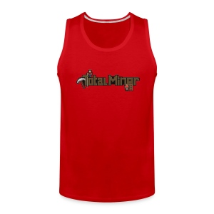 Total Miner Logo Tank Top - Men's Premium Tank
