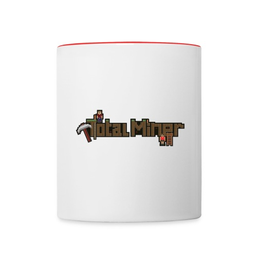 Total Miner Logo Contrast Coffee Mug - Contrast Coffee Mug