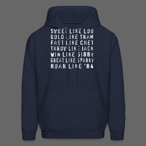 Sweet like Lou and Great like Sparky  - Men's Hoodie