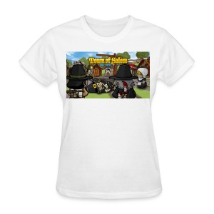 Town of Salem Female Shirt - White - Women's T-Shirt