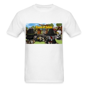 Town of Salem Male Shirt - White - Men's T-Shirt