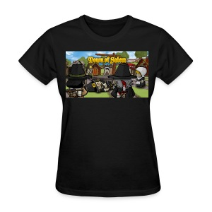 Town of Salem Female Shirt - Black - Women's T-Shirt