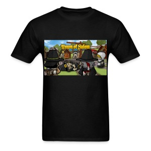 Town of Salem Male Shirt - Black - Men's T-Shirt