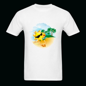 Sun Palm Beach - Men's T-Shirt