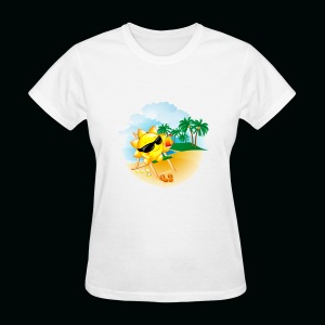 Sun Palm Beach - Women's T-Shirt