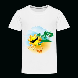 Sun Palm Beach - Toddler Premium T-Shirt