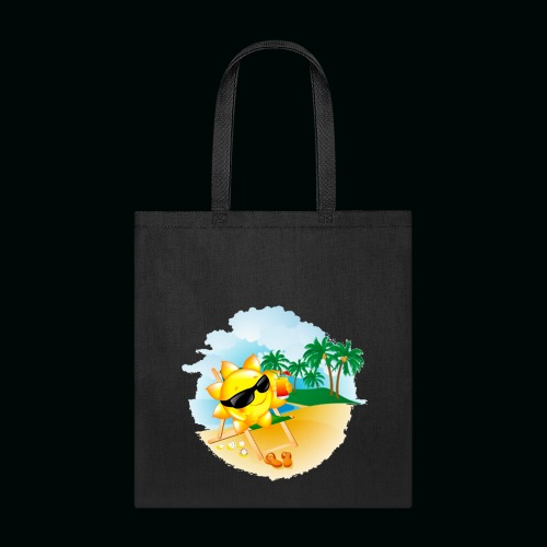 Sun Palm Beach - Tote Bag
