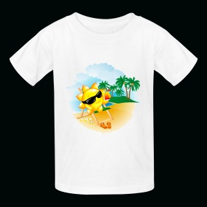 Sun Palm Beach - Kids' T-Shirt