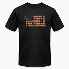 Vintage US Flag 'MERICA T-shirt