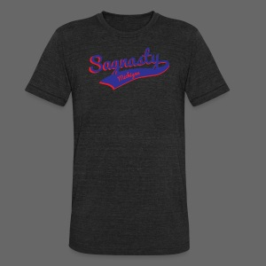 Sagnasty - Unisex Tri-Blend T-Shirt by American Apparel