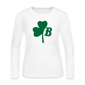 Boston Clover - Women's Long Sleeve Jersey T-Shirt