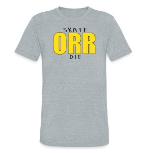Skate Orr Die - Unisex Tri-Blend T-Shirt by American Apparel