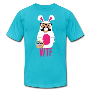 What The Flowers Bunny - Men's Fine Jersey T-Shirt