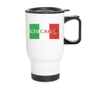 Chicago Mexico Flag