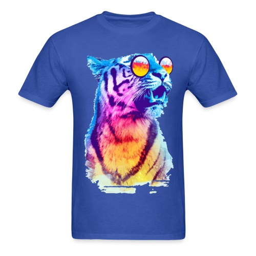 MULTI-COLORED TIGER SPECIAL - Men's T-Shirt