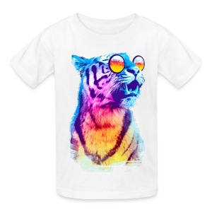 MULTI-COLORED TIGER SPECIAL - Kids' T-Shirt