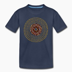 Hypnotic Donut 2 (Dk Ground) Kids' Shirts