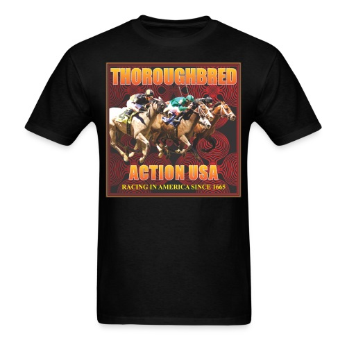 THOTOUGHBRED ACTION 79 - Men's T-Shirt