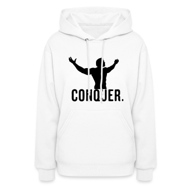 Conquer Hoodies
